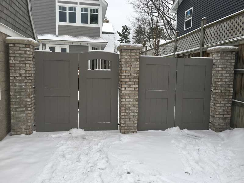 Stone Mason Gated Fences
