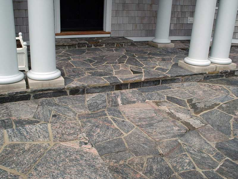 Stone Mason Porches and Decks